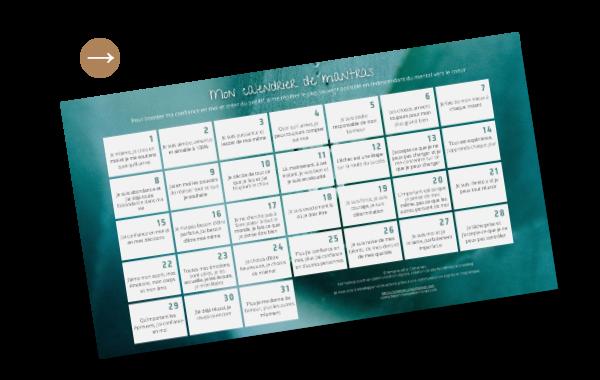 calendrier de mantras